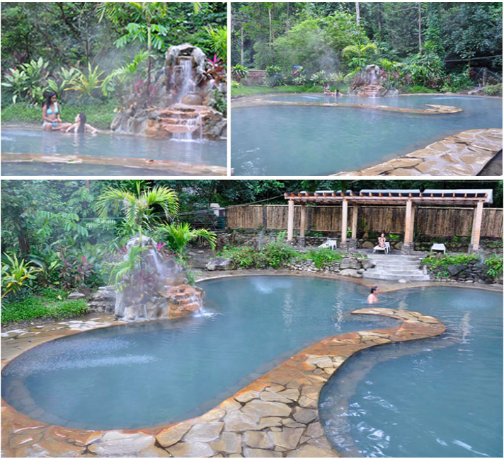Get relax at 19 x 19 meters Sulfur Dipping Pool