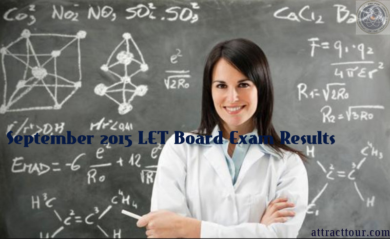 September 2015 LET Board Exam Results
