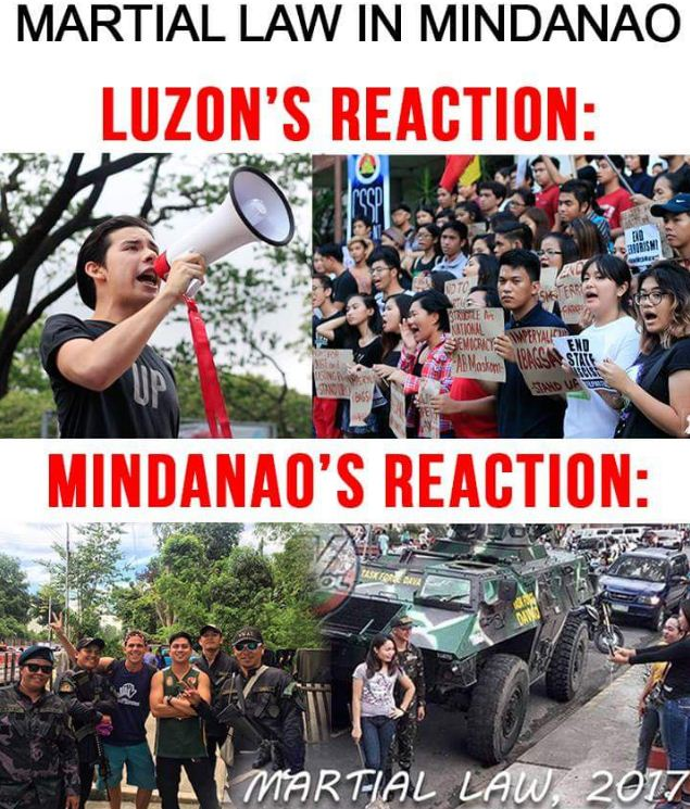 Image result for people martial law mindanao