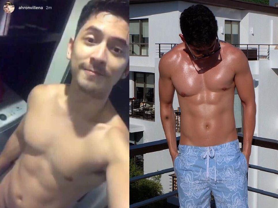 Ahron Villena apologizes for accidentally posting nude