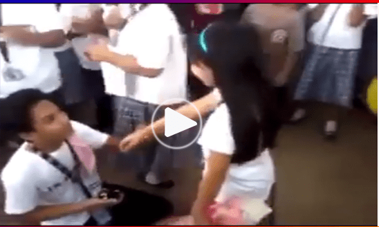 Viral Now Grade 7 Student Proposes To His Classmate Girlfriend