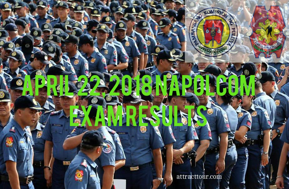 Senior Police Officer: April 2018 NAPOLCOM Exam Results