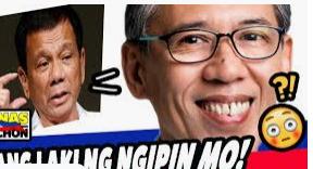 "President Duterte Called Chel Diokno ""Lousy Lawyer"""