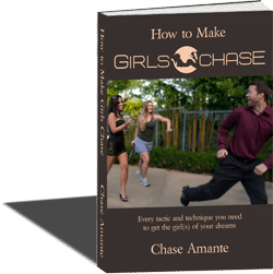 How to make girls chase book