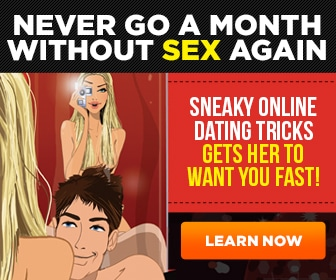 Never go a month without sex