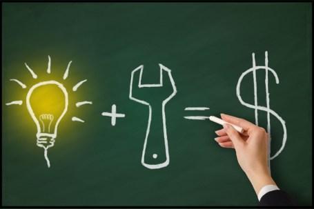 blackboard idea money - Il Grande Inganno della nostra Generazione riguardo il mondo del lavoro.