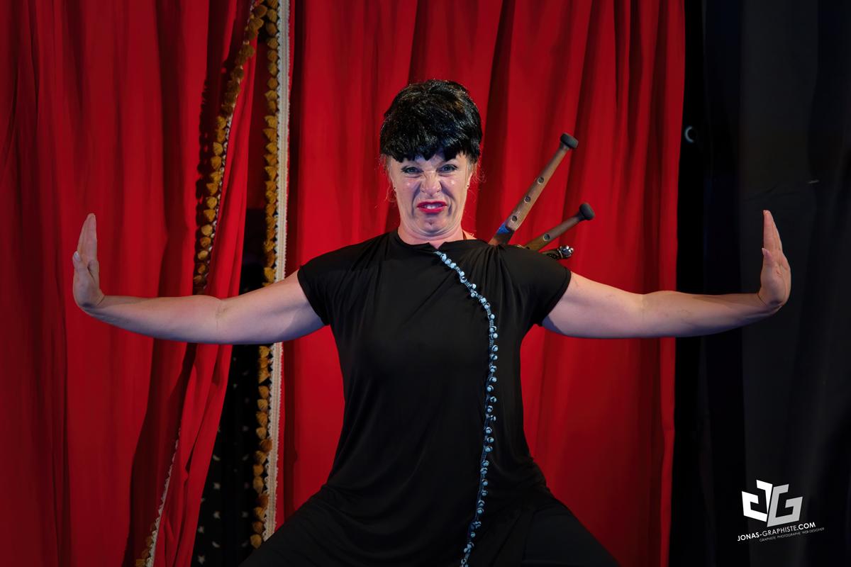 le cabaret des glinguet, clown, cirque, théâtre, burlesque
