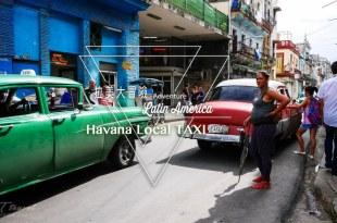 古巴哈瓦那 最local交通方式 跟當地人拼車計程車