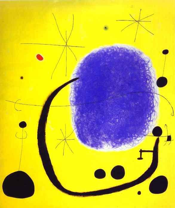 un'opera di Joan Miró