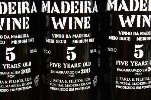 Madeira årgångsvin