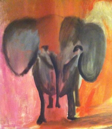 Konst på ridhuset i Dals Ed