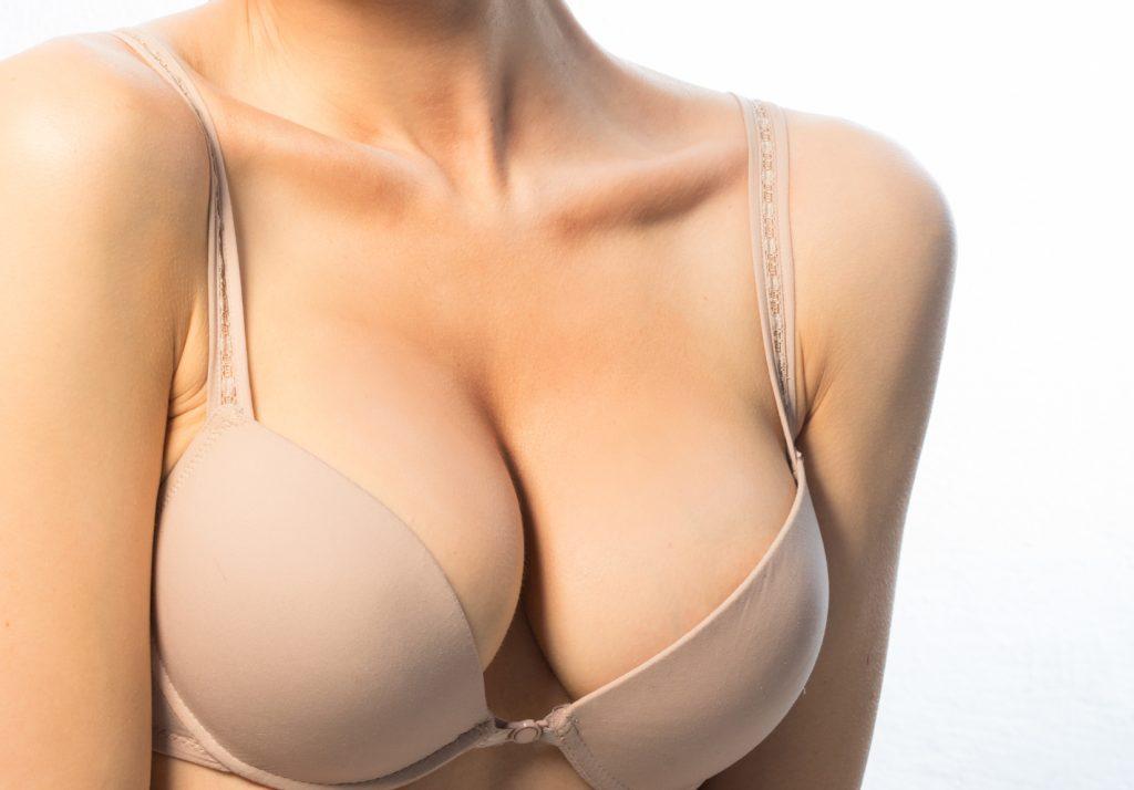 Фото третьего размера груди с боку анальное