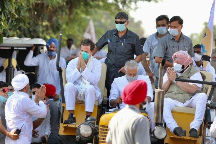 पंजाब के मुख्यमंत्री ने राहुल गांधी से प्रधानमंत्री बनने पर नए कृषि कानूनों को रद्द करने का अनुरोध किया