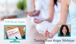 Taming Your Anger Webinar
