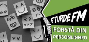postits med ansigter på og en grafik med teksten forstå din personlighed
