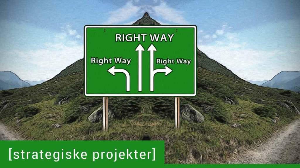 Hvordan bidrager projekter til virksomhedens strategi? 🎧