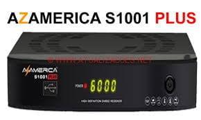 ATUALIZAÇÃO AZAMERICA S1001 PLUS HD V1.09.16444 E ENCRYPT de 08-06-16