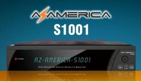 ATUALIZAÇÃO AZAMERICA S1001 V1.09.16444 E ENCRYPT de 08-06-16