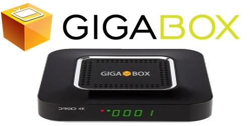 Resultado de imagem para GIGABOX DROID 4K