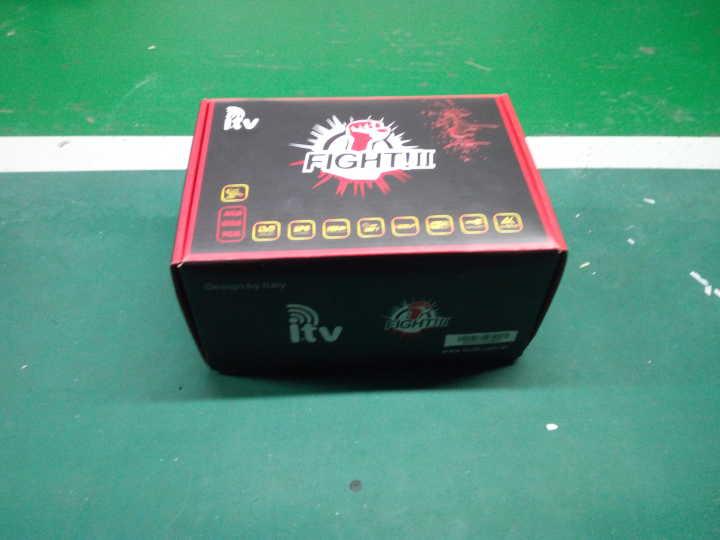 Demonstrativo Receptor ITV Fight II - ACM 4K