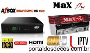 BRAVISSIMO-TWIN-EM-MAXFLY-1001-300x176 AZBOX BRAVISSIMO EM MAXFLY MF 1001 ATUALIZAÇÃO 1.170 - 06/03/18