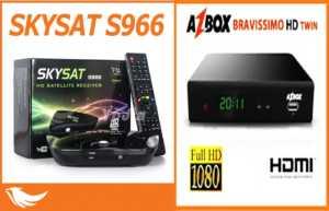 Skysat-AZSAT-S966-receptor-de-satélite--300x193 AZBOX BRAVISSIMO EM SKYSAT S966 ATUALIZAÇÃO 1.170 - 06/03/18
