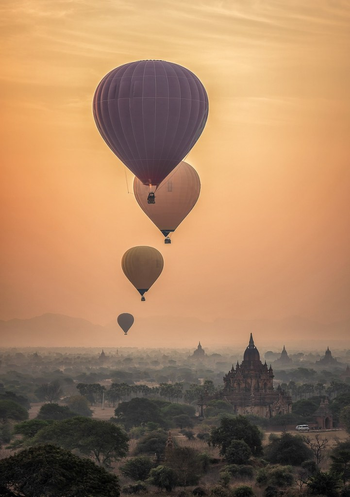 Bagan hot aid ballon