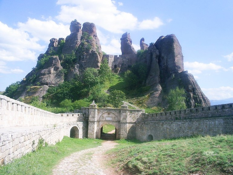The Belogradchik fortress and Belogradchik rocks. Bulgaria
