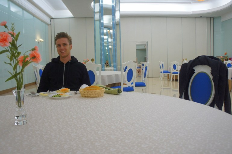 Dinner in North Korea