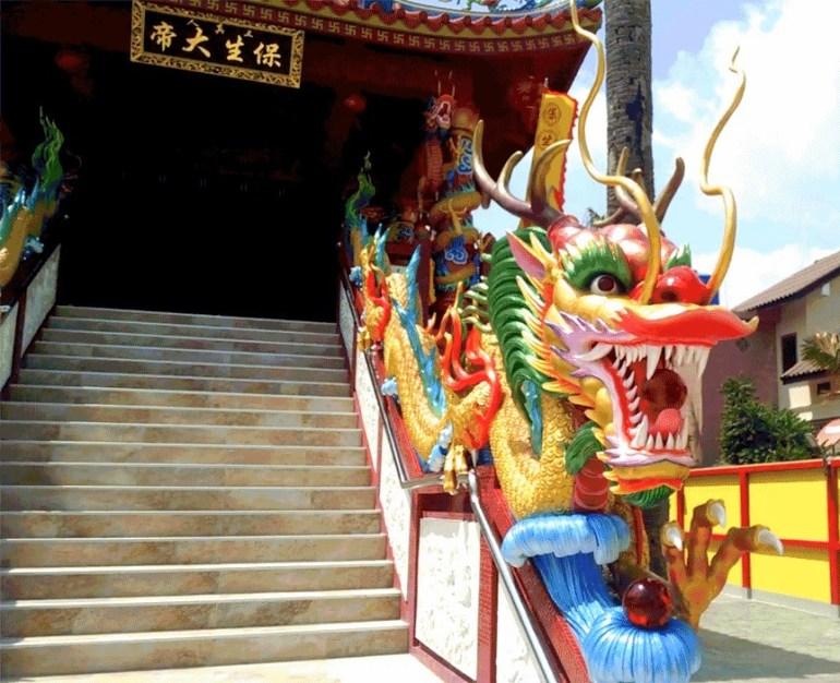 Temple Dragon Kata Beach