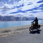 Pangong lake bike ride