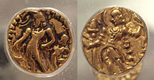 Gold coins of Chandragupta II.