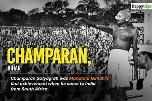 महात्मा गाँधी  ने चम्पारण सत्याग्रह आंदोलन का नेतृत्व कैसे किया