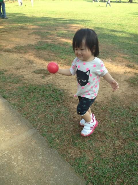 我愛玩球球!!! 2014.04.12 中央大學