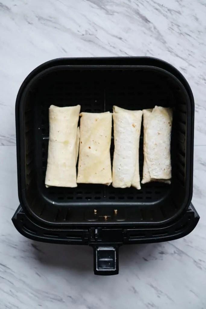 frozen burrito in air fryer the