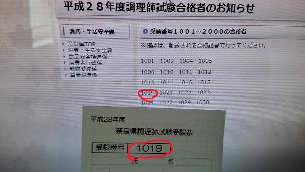奈良県での調理師試験に合格した!合格基準とか勉強法書くよ!!
