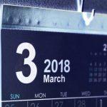 【3月の休みのご案内です(2018)】