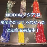 NODIA(ノジア)は白髪染めだけじゃなかった!追加色を実験中!