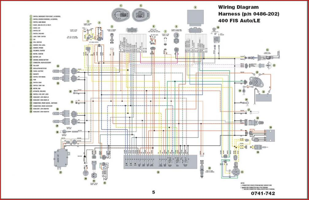 2007 Polaris Sportsman 500 Ho Wiring Diagram  Somurich