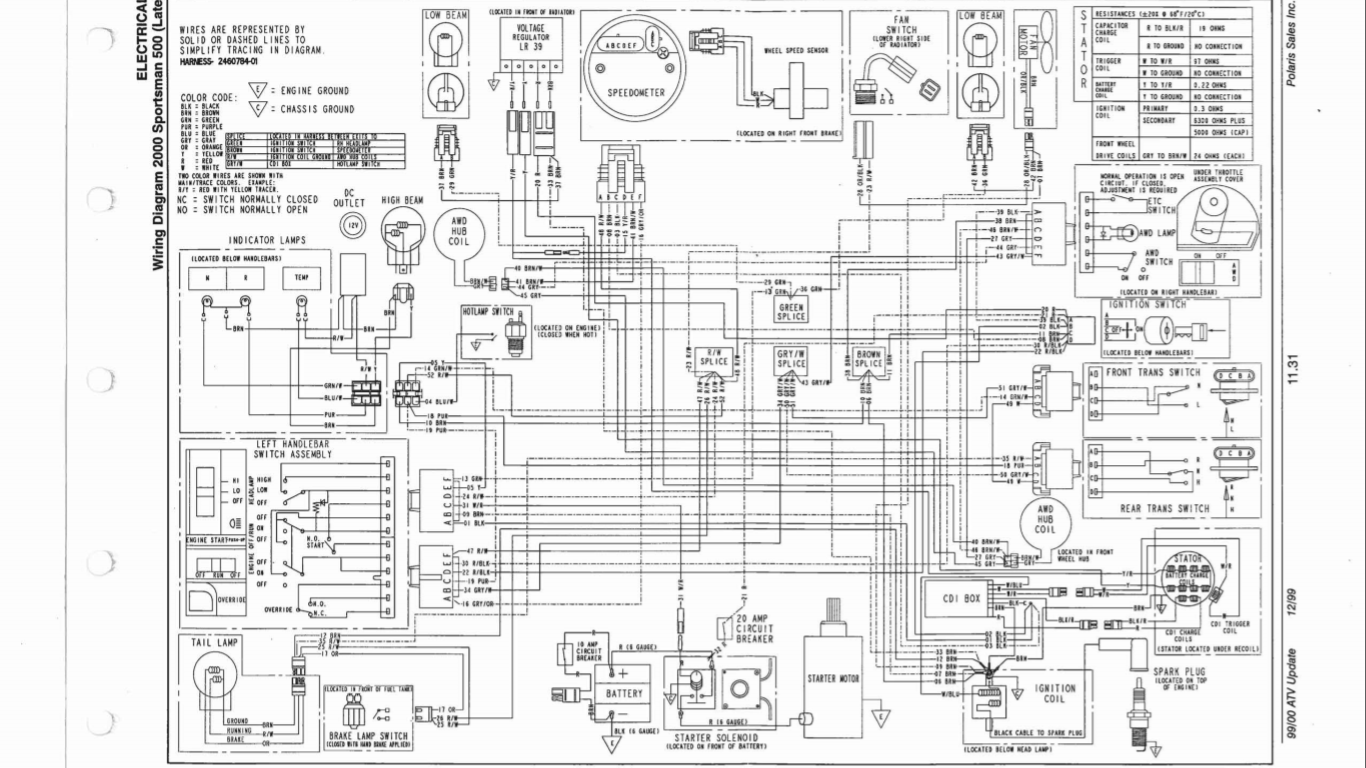 Qiye 4 Wheeler Wiring Diagram For