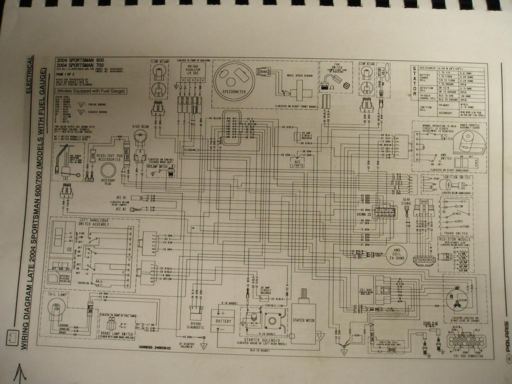 2005 Polaris Sportsman 500 Stator 1996 Wiring Diagram