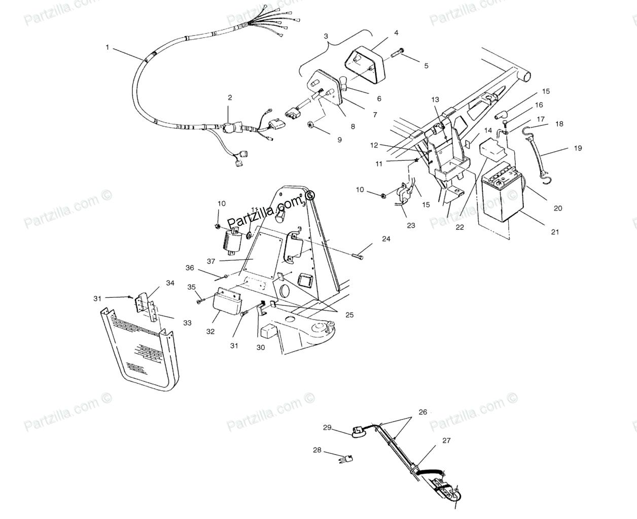 Polaris Magnum 425 Wiring Diagram