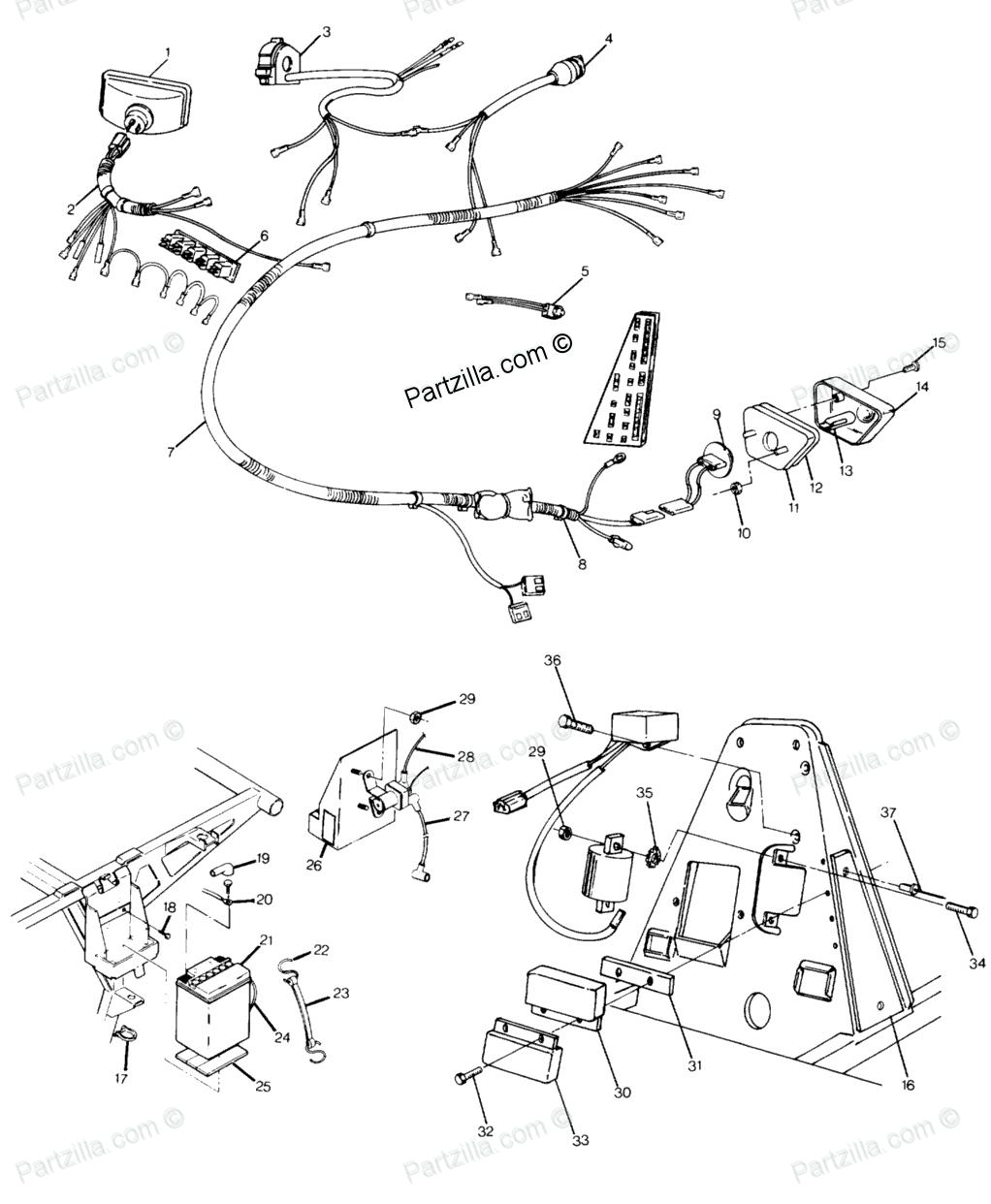 Awesome polaris trail boss wiring kohler ch20s wiring diagram jayco