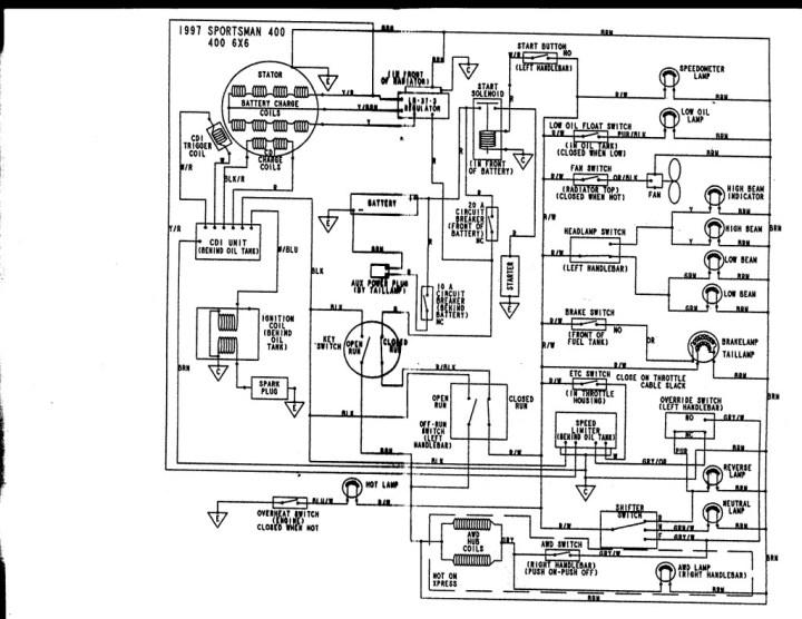 D Polaris Scrambler Issues Wire on Polaris Scrambler 90 Wiring Diagram