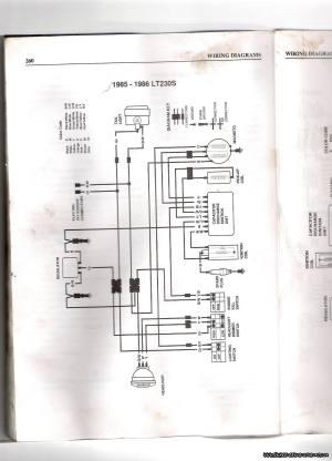 85 to 88 Suzuki LT230S Quadsport help  Page 1249