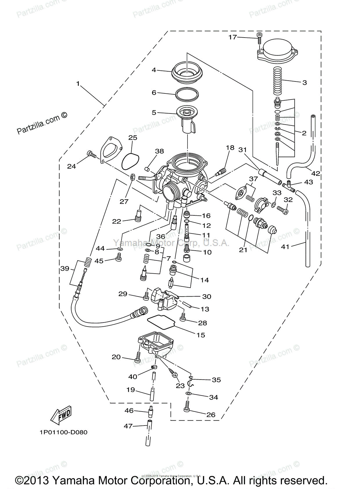 Raptor Carburetor Diagram