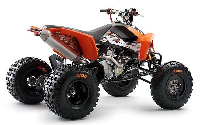 ATV Test: 2012 KTM 525XC - ATVConnection.com