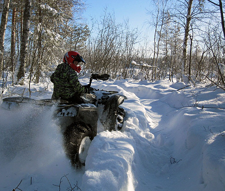 ATV Snow Riding Guide: Tips For Getting Out in the Powder