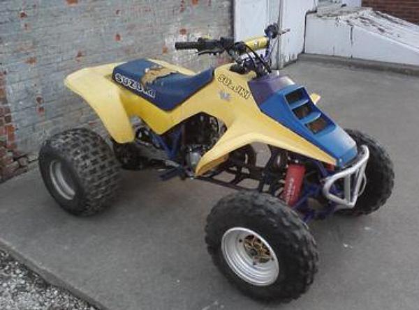 Suzuki Wheeler 4 Quad 1980s