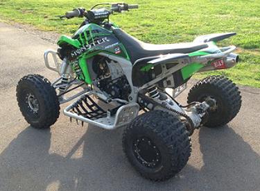 Weekly Used ATV Deal: 2009 Kawasaki KFX450R - ATVConnection.com
